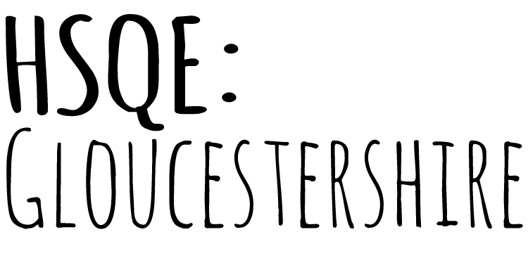 HSQE Gloucestershire Retina Logo